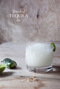 Smoked Tequila Ice